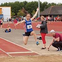 Junior Academy long jump